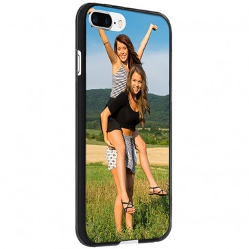 iPhone 8 PLUS - Personalised Silicone Case - Black, White or Transparent