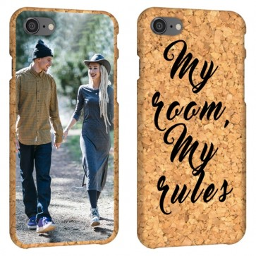 iPhone 8 - Personalised Cork Case