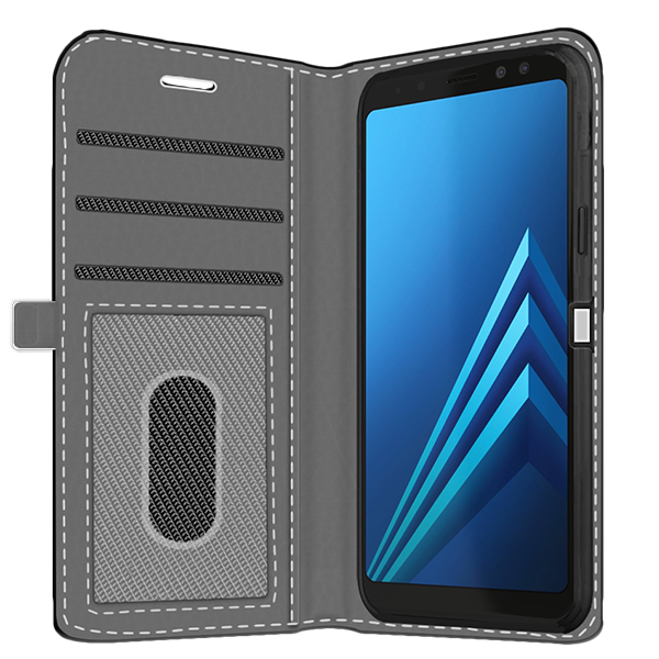 best service 07923 6b1df Samsung Galaxy A8 2018 - Personalised Wallet Case (Front Printed)