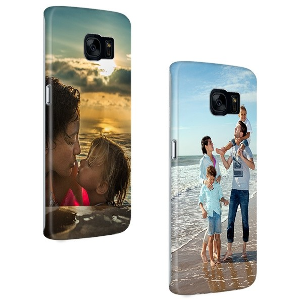 reputable site 06a91 f47eb Samsung Galaxy S7 Edge - Personalised Full Wrap Hard Case
