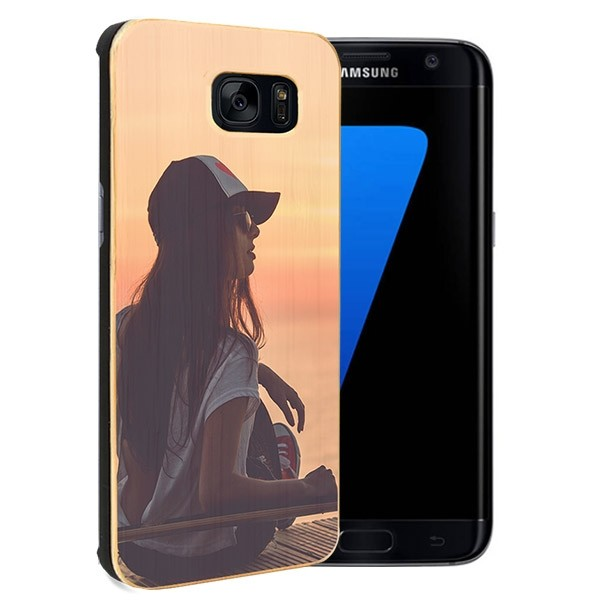 wholesale dealer cae48 29e31 Samsung Galaxy S7 Edge - Personalised Wooden Case