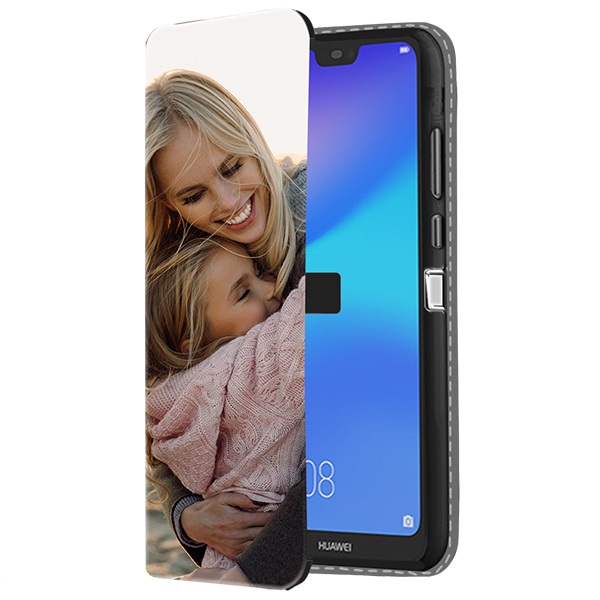 new styles 89c65 5eb72 Huawei P20 Lite - Personalised Wallet Case (Front Printed)