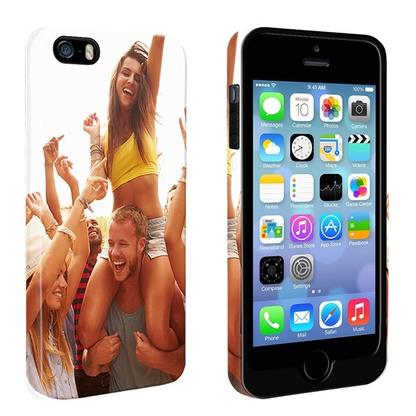 timeless design a93f7 cb478 iPhone 5, 5S & SE - Personalised Full Wrap Tough Case