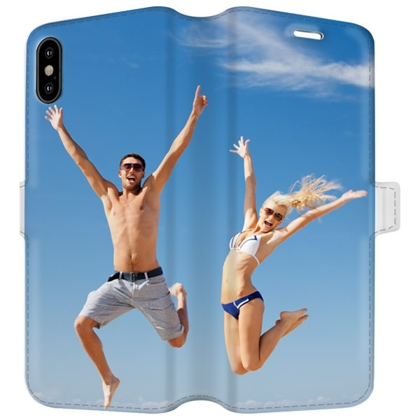 brand new 89ec0 74c16 iPhone X - Personalised Wallet Case (Full Printed)