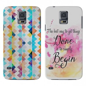Samsung Galaxy S5 Mini - Personalised Full Wrap Hard Case
