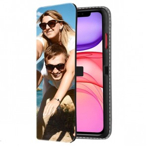 iPhone 11 - Personalised Wallet Case (Front Printed)