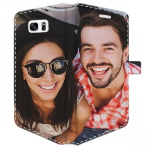 Samsung Galaxy S7 Edge - Personalised Wallet Case (Full Printed)