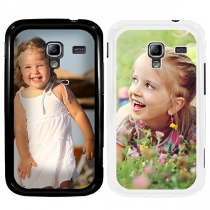 Samsung Galaxy Ace 2 - Personalised hard case - Black or white