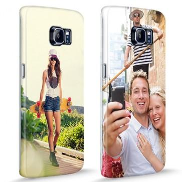 Samsung Galaxy S6 Edge - Rondom Bedrukt Hardcase Hoesje Maken