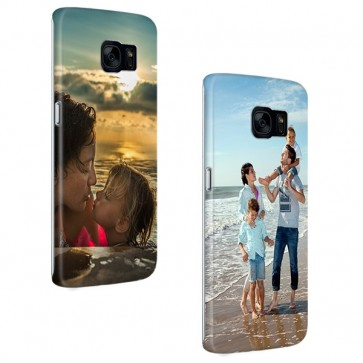 Samsung Galaxy S7 Edge - Rondom Bedrukt Hardcase Hoesje Maken