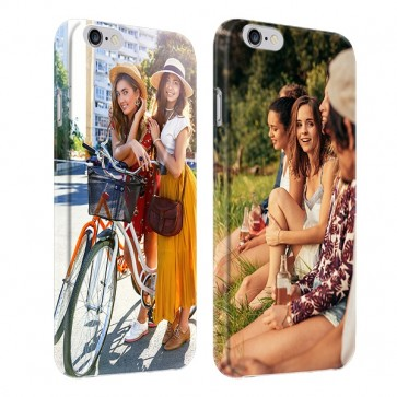 iPhone 6 & 6S - Rondom Bedrukt Hardcase Hoesje Maken