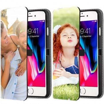 iPhone 8 - Portemonnee Hoesje Maken (Voorzijde Bedrukt)