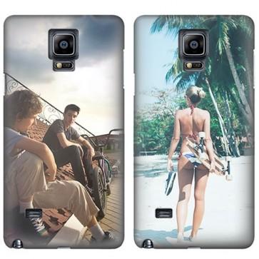 Samsung Galaxy Note 4  - Rondom Bedrukt Hardcase Hoesje Maken