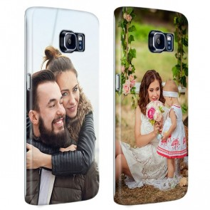 Samsung Galaxy S6 Edge PLUS - Rondom Bedrukt Hardcase Hoesje Maken