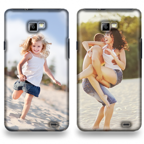 Samsung Galaxy S2 & S2 PLUS - Rondom Bedrukt Hardcase Hoesje Maken