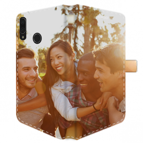 Huawei P20 Lite - Portemonnee Hoesje Maken (Volledig Bedrukt)