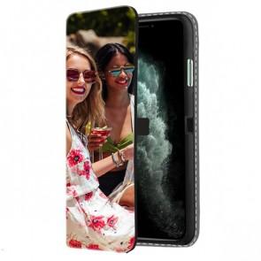 iPhone 11 Pro Max - Portemonnee Hoesje Maken (Voorzijde Bedrukt)