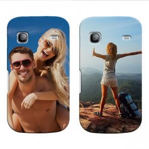 Samsung Galaxy Gio - Hardcase hoesje maken - Wit