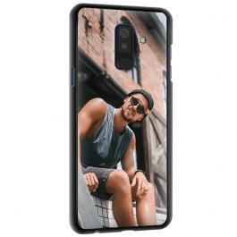 Samsung Galaxy A6 PLUS 2018 - Silikon Handyhülle Selbst Gestalten