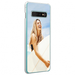 Galaxy S10 personalised phone case - Hard case