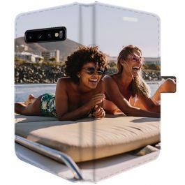 Samsung Galaxy S10 Plus - Cover Personalizzata a Libro (Stampa Integrale)