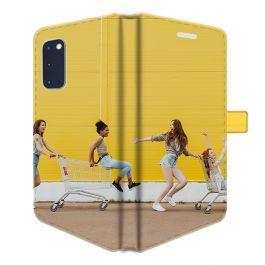 Samsung Galaxy S20 - Portemonnee Hoesje Maken (Volledig Bedrukt)
