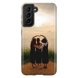 Samsung Galaxy S21 Personalised Full Wrap Tough Case