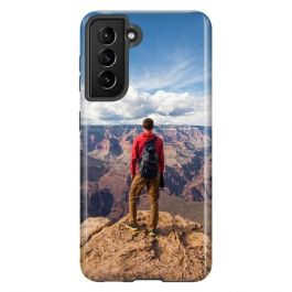 Samsung Galaxy S21 Plus Personalised Full Wrap Tough Case