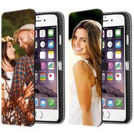 iPhone 6 PLUS & 6S PLUS - Custom Wallet Case (Front Printed)