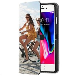 iPhone SE (2020)- Custom Wallet Case (Front Printed)