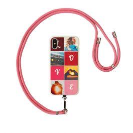 Koord voor telefoonhoesje - Roze
