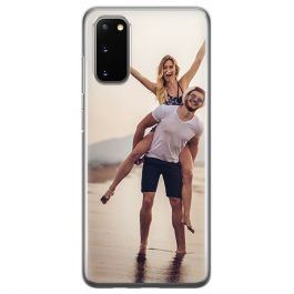 Galaxy S20 personalised phone case - Hard case