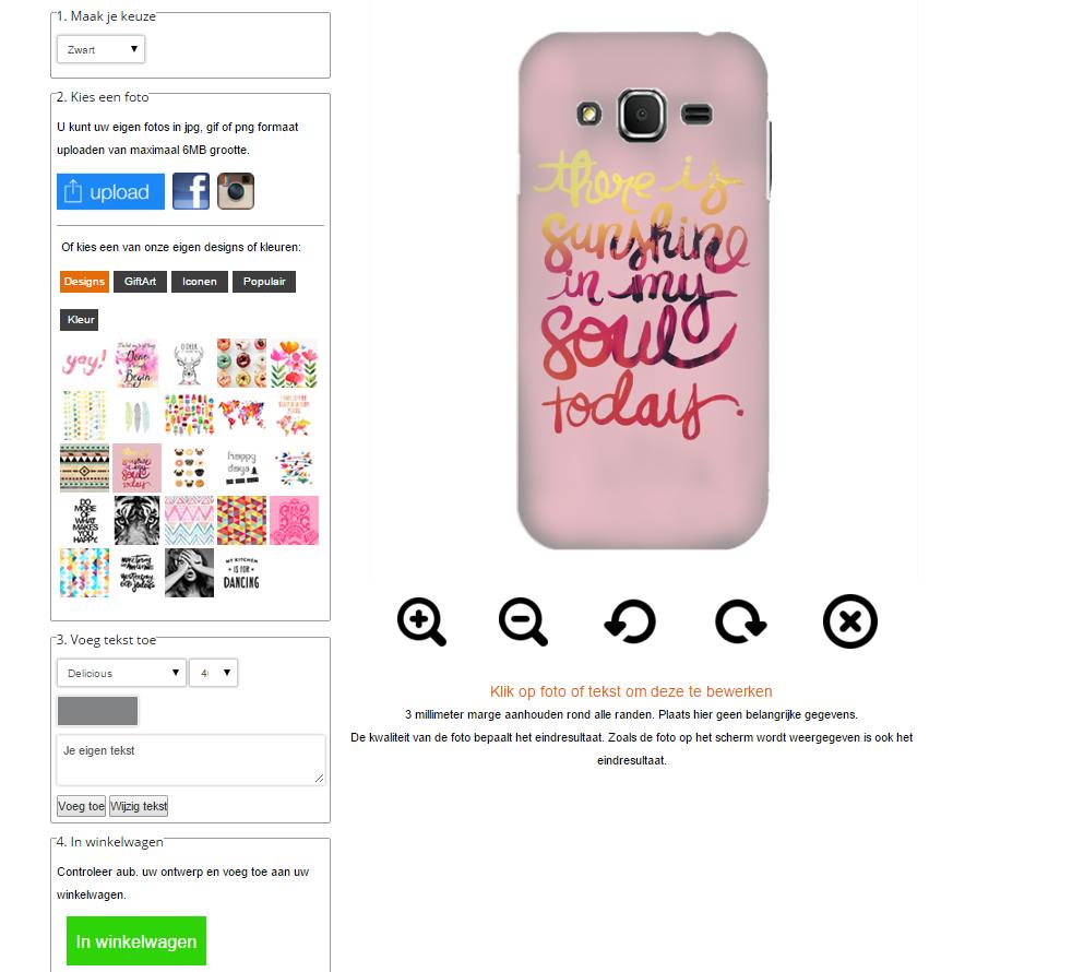 funda personalizada Samsung Galaxy Core Prime