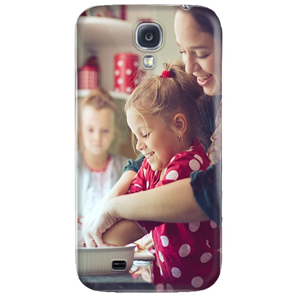Abbildung von Samsung Galaxy S4 Rundum Bedruckte Hard Case Handyhülle Selbst...
