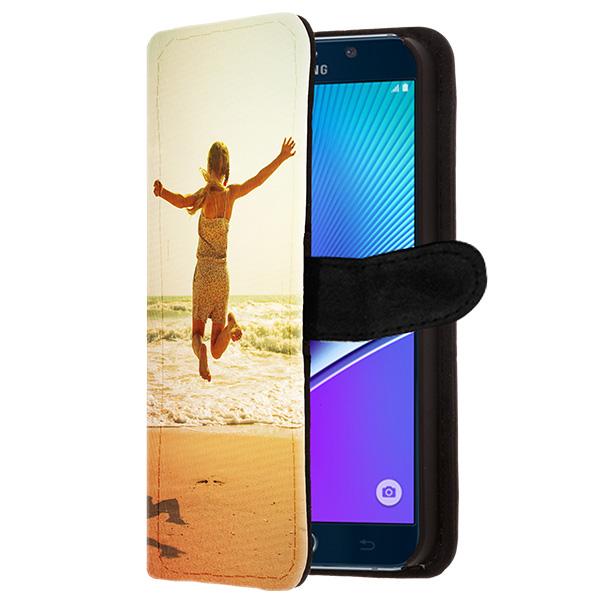 Coque Samsung Galaxy Note 5 portefeuille à personnaliser