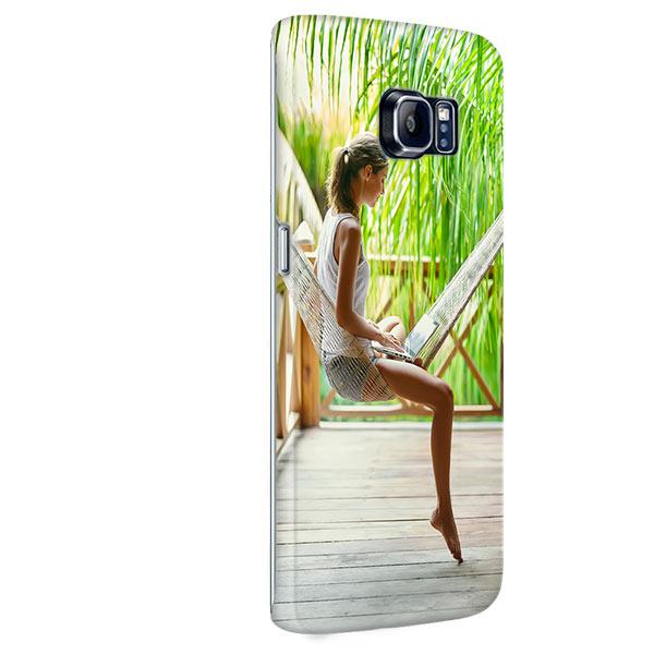 Samsung Galaxy S6 Edge PLUS Hardcase hoesje met foto