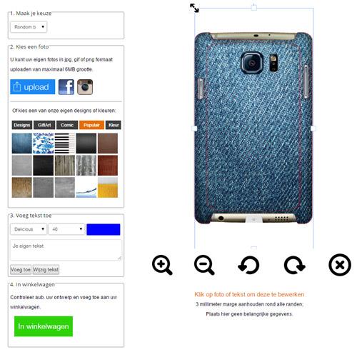 Samsung Galaxy S6 Hardcase hoesje maken