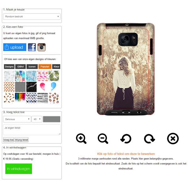fundas personalizadas Samsung Galaxy S7 resistentes