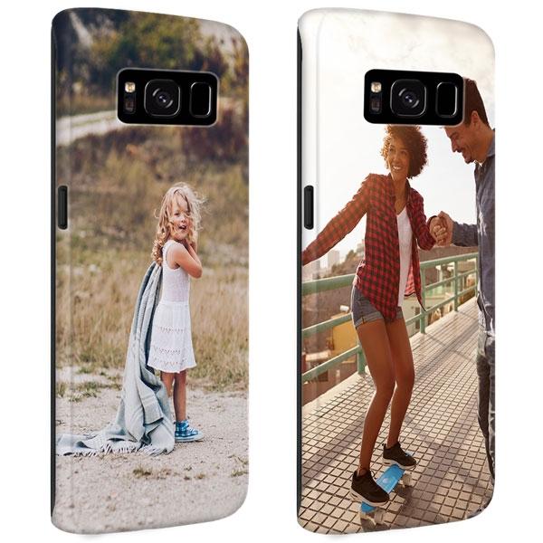 Afbeelding van Galaxy S8 PLUS Rondom Bedrukt Hardcase Hoesje Maken