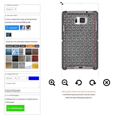 personalizzare cover Samsung Galaxy Alpha