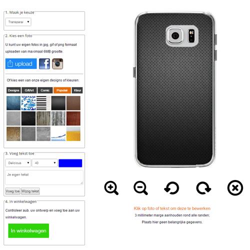 Galaxy S6 Softcase selbst gestalten