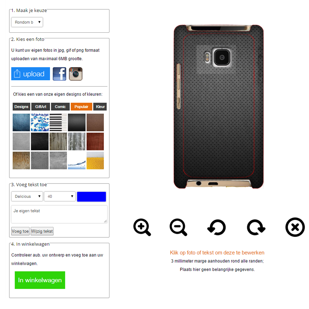 fundas personalizadas HTC One M9