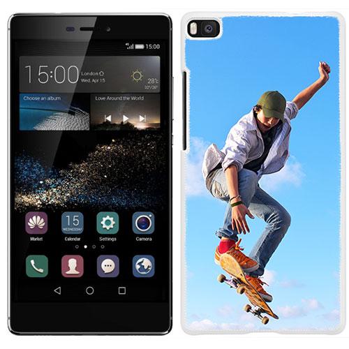Coque personnalisée Huawei Ascend P8 rigide noire