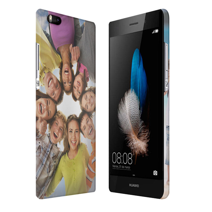 Huawei Ascend P8 Hardcase hoesje maken rondom bedruktt