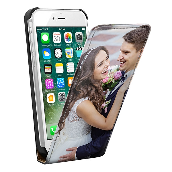Image of iPhone 7 & 7S Carcasa flip personalizada