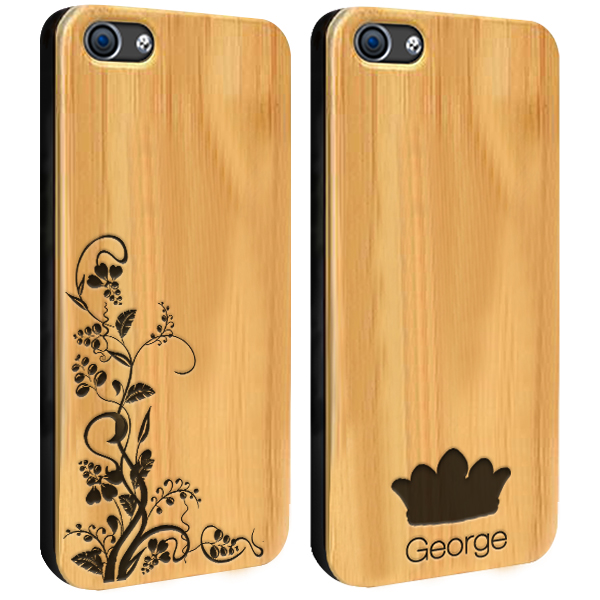 coque personnalis e en bois iphone 6 6s i etui grav. Black Bedroom Furniture Sets. Home Design Ideas