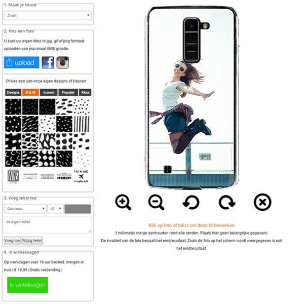 cover personalizzata LG K10 con foto