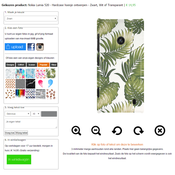 Coque personnalisée Nokia Lumia 520