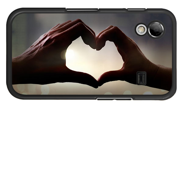 Cover con foto Galaxy Ace