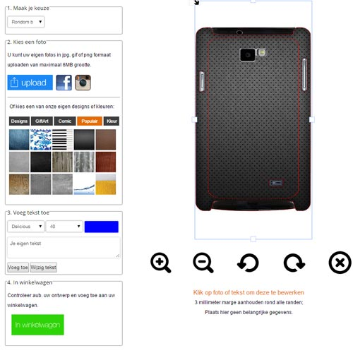 create your own Samsung Galaxy S2 phone case
